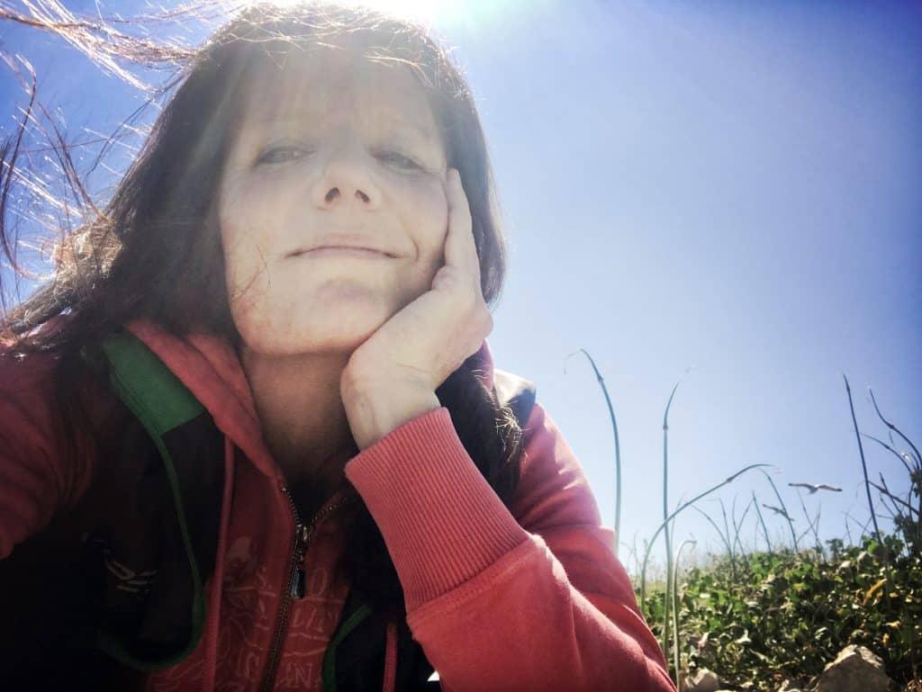 Pause und die Sonne genießen